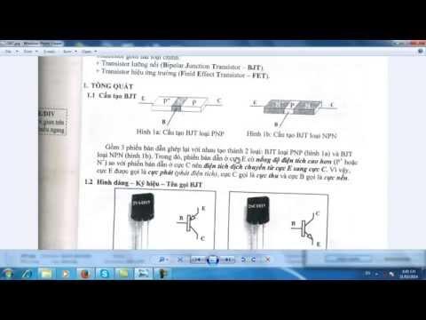 Điện tử căn bản-Phần 14-Lý thuyết Transistor