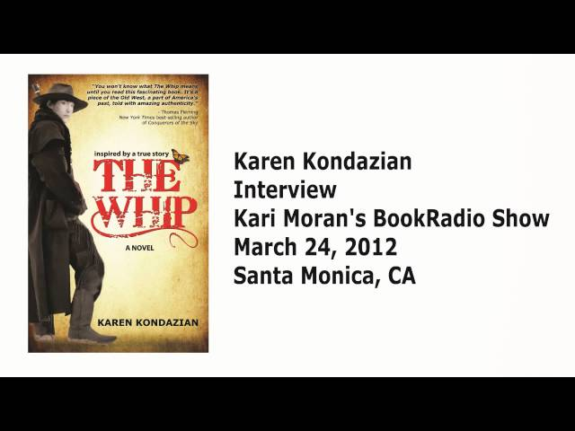 Karen Kondazian gets interviewed on Kari Moran's BookRadio Show