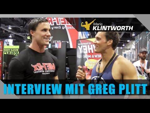 Mario Klintworth interviewt Greg Plitt beim #Mr. Olympia 2013