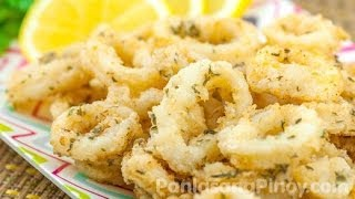 Easy Calamari (Squid) by Panlasangpinoy.Com
