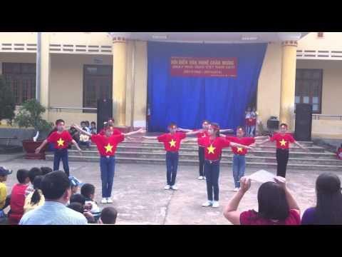 nhảy Flashmob Việt Nam ơi - 20/11 trường Tiểu học Phúc Ứng
