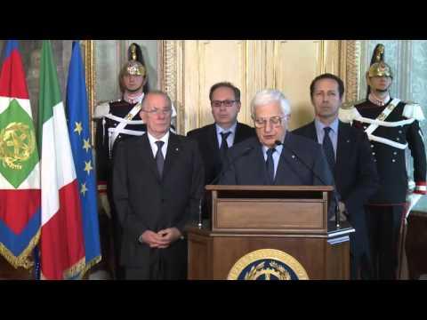 Dimissioni Letta - Renzi Atteso da Napolitano al Colle: Video Quirinale