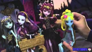 Monster High New Dolls From Movie 13 Wishes (Commercial