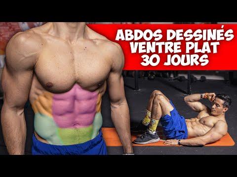 Abdos dessinés et ventre plat en 30 jours !