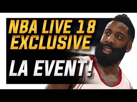 NBA Live 18 Exclusive Event: Gameplay and Screenshots!