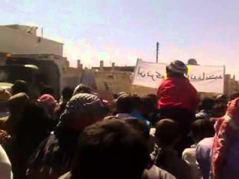 الحسكة:غويران: جمعة قدمون يا دمشق ج3 23\3\2012