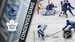 01/06/18 Condensed Game: Canucks @ Maple Leafs