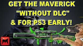 "Get DLC Gun ""Maverick"" Early For PS3 ""Call Of Duty Ghost"