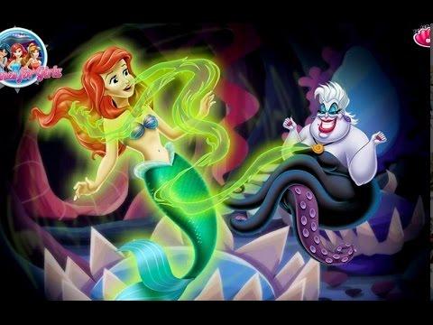 Truyện cổ tích nàng tiên cá Ariel- Con gái út vua thủy tề Triton