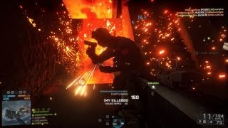 """Best Time in Gaming History - Battlefield 4 """"Paracel Storm"""" Multiplayer Gameplay"""