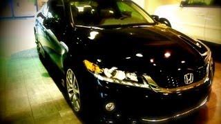 2013 Black Honda Accord Coupe HFP Modifications