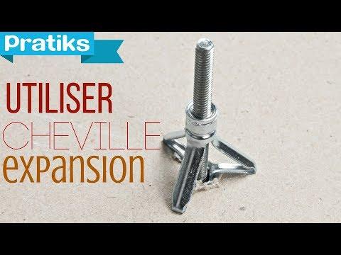 Comment utiliser une cheville expansion youtube - Cheville a expansion ...