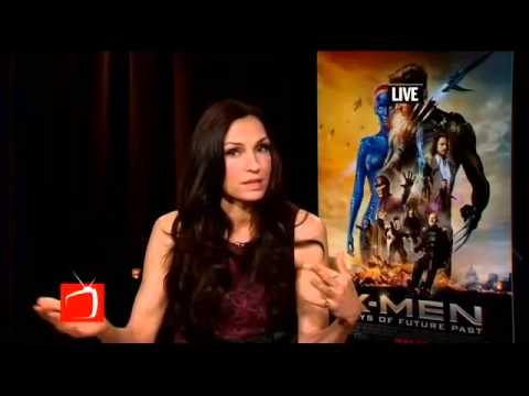 Actress Famke Janssen Talks X Men Days of Future Past