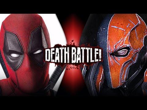 Deadpool VS Deathstroke | DEATH BATTLE!