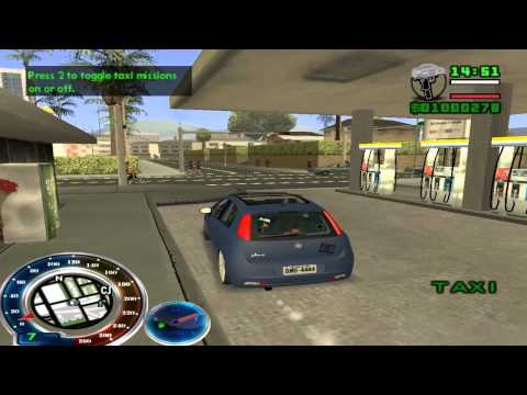 GTA San Andreas Fiat Pancadão, MC DALESTE! CHEIRO De MACONHA