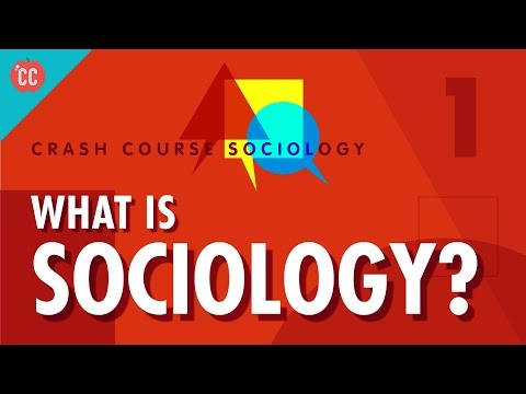 What Is Sociology?: Crash Course Sociology #1