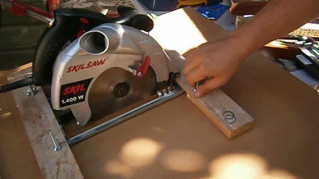Meson sierra circular youtube - Sierras circulares de mesa ...