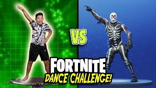 FORTNITE DANCE CHALLENGE!!! All Dances In Real Life! (Season 1 - Season 4) Loser Gets BANNED!