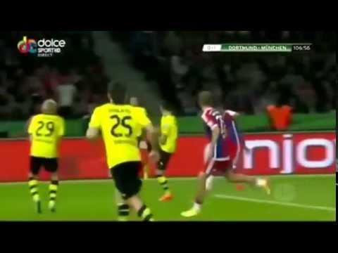 Borussia Dortmund vs Bayern Munich 0 2 DFB Pokal Finale 17 05 2014 HD All Goals