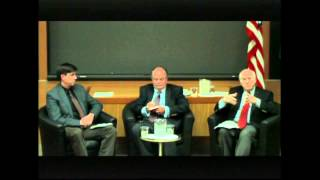 Crises in Egypt and Syria panel