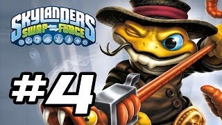 Skylanders Swap Force Gameplay Walkthrough - Part 4 - NEW RATTLE SHAKE!! (Skylanders Gameplay HD)