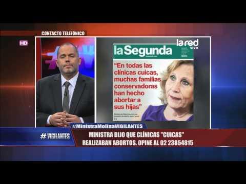Ex Ministra Helia Molina dijo que clínicas