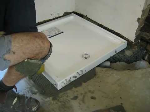 How To Install A Shower Base On A Wooden Floor.Wooden Floor New Install Shower Base On Wooden Floor