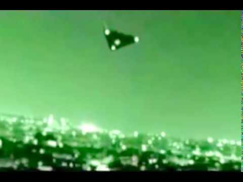 US TR-3B Aurora Anti-Gravity Spacecraft In Night Vision (Digitally Remastered) [480p]