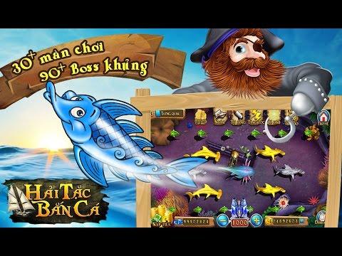 Giải Trí Cùng Game Mobile Hải Tặc Bắn Cá - Bắn Cá Ăn Xu