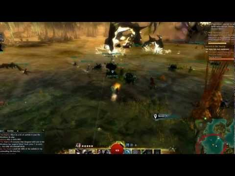 Guild Wars 2 World Boss Event - Lvl. 12 Human Thief - Shadow Behemoth