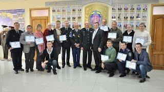 Ректор ХНУВС вручив сертифікати про проходження тренінг-курсу «Тренуй тренера»