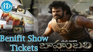 Baahubali Movie Benefit show Tickets