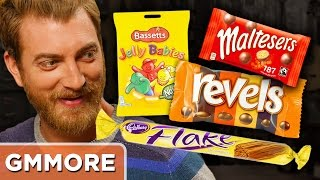British Candy Taste Test