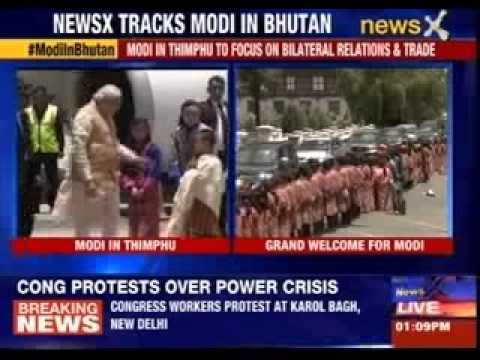 Narendra Modi in Thimphu to focus on bilateral relations and trade