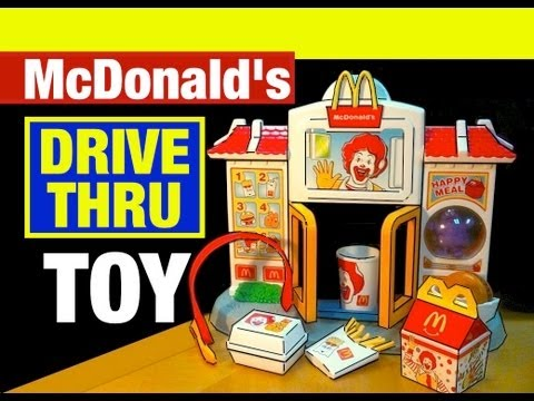McDonald's Happy Meal Drive-Thru McDonalds Toys Review by Mike Mozart of TheToyChannel