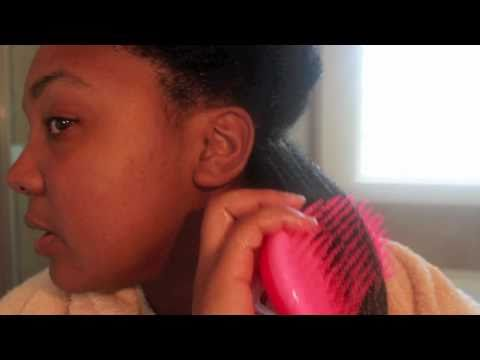 Natural Hair Olive Oil &amp; Honey Treatment Tutorial