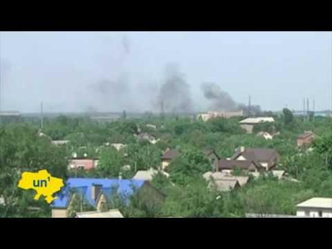 Battle for Donetsk Airport: Ukrainian army clashes with insurgents at Donetsk International Airport