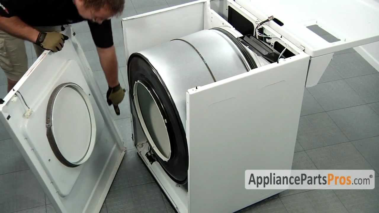Dryer Idler Pulley Part 691366 How To Replace Youtube