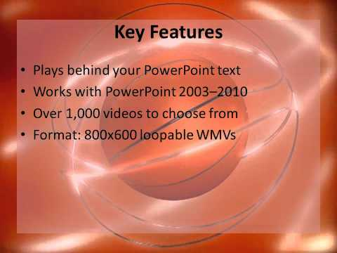 video powerplugs: backgrounds