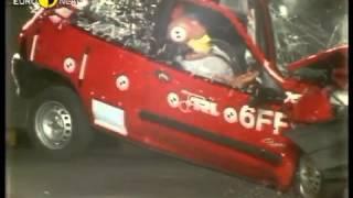 Renault Clio kaza testi - Euro NCAP 1997