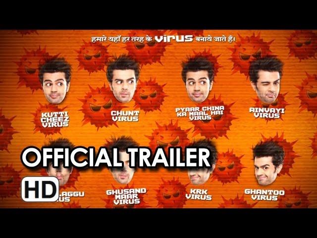 Mickey Virus Official Trailer (2013)
