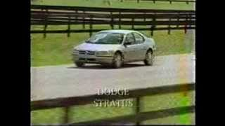 1995 Dodge Stratus driving, narrated footage and features