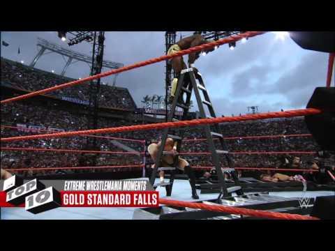 WWE Top 10 WrestleMania - Đô vật Mỹ, chương trình giải trí hay nhất mọi thời đại