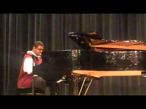 Can You Feel The Love Tonight (Cover) by Elton John WRHS Idol 2012