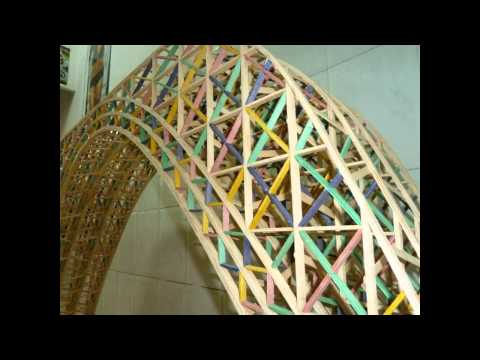 X Concurso BBK de Maquetas de puentes de Ingenieros Bilbao