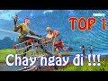 FORTNITE top 1 | Chạy Ngay Đi !!!
