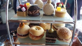 AFTERNOON TEA AT THE TALLEST BUILDING IN THE WORLD
