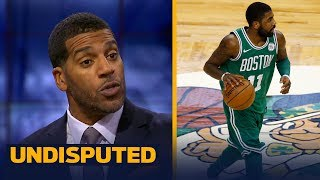 Jim Jackson loves the way Kyrie's Celtics are playing early in the 2017-18 NBA season   UNDISPUTED