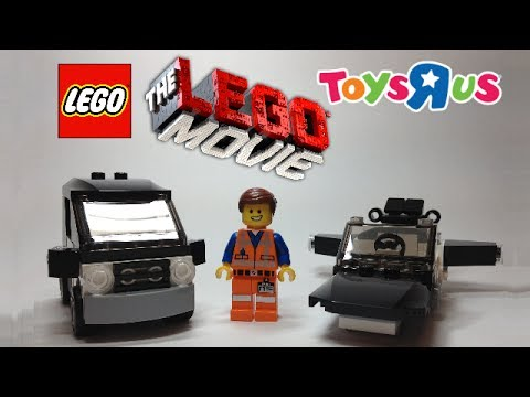 The LEGO Movie Emmet's Car Review (Free Toys