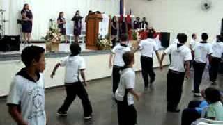 Coreografia ,Guerreiros da Última Geração.. Cordeiro Santo 1ª I.E.Q Tga da Serra view on youtube.com tube online.